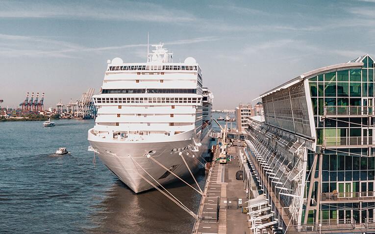 Kreuzfahrt Oberdeck Hamburg