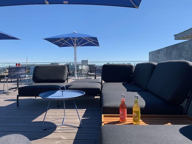 Dachterrasse Oberdeck Lounge